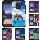 Slim Hybrid Armor Case Shock Proof Cover for Samsung Galaxy S6 Active (SM-G890A)
