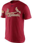 Nike St. Louis Cardinals Memorial Day Salute Service Camo shirt baseball MLB men