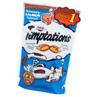 85g Whisgas Temptations Cat Treats Tasty Crunchy Outside Soft Inside 3oz