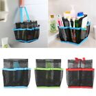 8 Basket Pockets Mesh Shower Caddy Tote Wash Bag Dorm Bathroom Caddy Organizer
