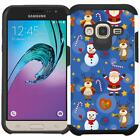 Christmas Holiday Design Case for Samsung J3 2016 Galaxy Express Prime Sky Sol