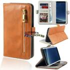 For Samsung Galaxy S1/2/3/4/5/7 Smartphones Flip Cover Stand Wallet Leather Case
