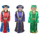 Christmas Nativity Play Costumes - Mary Joseph Shepherd Gold Wise Men