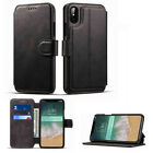 Luxury Retro Leather Flip Wallet Card Holder Stand Case For iPhone X