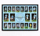 MAN CITY SIGNED PRINT PHOTO POSTER SQUAD 2017 2018 TEAM MANCHESTER CITYFRAMED