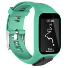 Replacement Silicone Watch Band Strap For TomTom Adventurer / Golfer 2 GPS Watch