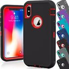 For Apple iPhone X 10 Case Cover Protective Shockproof Hybrid Hard Rugged Armor