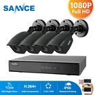 ANNKE 1080P HDMI HD-TVI 8CH/4CH DVR 960P Outdoor IR Home Security Camera System