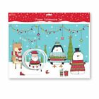 Christmas Paper Tableware Set - Dinner Table Place Mats Cutlery Holders Coasters