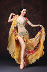 NEW Luxury Beading Professional Belly Dancing Costumes SKirt