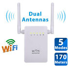 Dual Antenna 300Mbps Wifi Repeater Wireless Range Extender 802.11N Booster