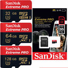 SanDisk NEW 64/128GB Ultra A1 Micro SD SDXC Card 100MB/s UHS-I C10 Adapter