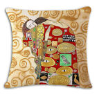 Cotton Linen Fashion Vintage Gustav Klimt Pillow Case Waist Cushion cover New