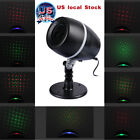 US Moving Star Stage Light Xmas Party Laser Projector Garden Landscape Spotlight