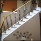 railing spindles - Iron-Balusters-Iron-Spindles-Metal-Stair-Parts-Hollow-Satin-Black-stair railing