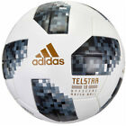 adidas Fifa World Cup Telstar 18 Offical Match Ball Wht/Blk/Metallic Sil CE8083
