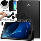 "Leather Stand Smart Case For Samsung Galaxy Tab A6 10.1"" Tab E Tab S2 Tab A 9.7"""
