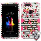 ZTE Blade Z Max Sequoia Hybrid Shockproof Impact Armor Rubber Rugged Case Cover