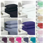 "Extra Deep Fitted Sheet 40CM 16"" Deep Percale Quality Poly Cotton 180 Thread image"