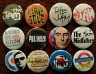 The Jam & Paul Weller Button Badges. 25mm in Size. Collector. Bargain. :0)