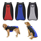 Pet Dog Cat Outdoor Winter Warm Clothes Reflective Vest Jacket Polar Fleece Coat