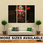 3 Panel Canvas Picture Print - Chivas Regal Whiskey Bottl...