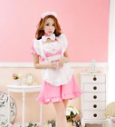Lot Women Sexy Japanese Maid Dress Waitress Uniform Cosplay Costumes Outfit