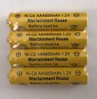 4-pcs1.2v AA(300/600/800mAh) / AAA 600mAh And Ni-Cd / Ni-MH Rechargeable Battery