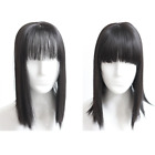 Straight Synthetic Hair Topper Hairpiece Silk Straight hair Topper Replacement