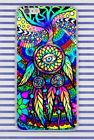 Hippie Psychedelic Peace Art Tree Leaves Hard Cover Case For iPhone Huawei New
