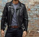 Schott Nyc PERFECTO Men's Rider 618 Steerhide Leather Motorcycle USA Jacket  Nwt