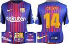 17 / 18 - NIKE ; BARCELONA HOME SHIRT SS / CRUYFF 14 = ADULTS
