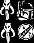 Star Wars (4 Pack) Mandolorean Pack Logo Vinyl Decal Sticker Bumper Window $4.99 USD on eBay