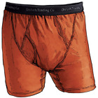 Duluth Trading Co Mens Performance Buck Naked Boxer Briefs LARGE ORANGE New