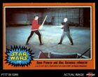 1977 Topps Star Wars #319 Dave Prowse and Alec Guinness rehearse NM/MT $12.0 USD