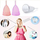 Reusable Silicone Menstrual Cup Hygiene Period Soft Medical Diva Cups S/L Size