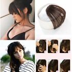 Us-100% Human Hair Clip in Fringe Light Breathable Air Bangs Front Hairpiece