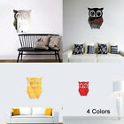 3D Owl Art Mirror Decal Vinyl Mural Wall Stickers Home Decor Removable DIY Hot