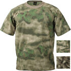 A-TACS FG AU Camouflage Military Tactical Short Sleeve T-Shirt