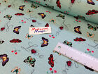 name of love butterfly digital cotton fabric 140cm wide KITCHEN/ GARDEN