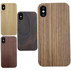 100% Natural Cherry Wooden Hard Phone Case Cover for Apple iPhone X iPhone 10