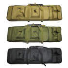 39' Tactical Gun Bag Carbine Rifle Range Padded Carry Case Storage Double Straps