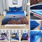 3D Galaxy Sky Cosmos Twin Queen Size Bedding Set Quilt Covers Duvet Covers Sets image