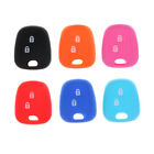 2 Buttons Silicone Shell Remote Key Fob Case Cover For DF peugeot 206 O o1w