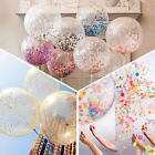 10x Confetti Latex Balloons Wedding Birthday Party Baby  Shower Decoration 12""