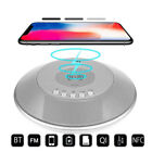 Qi Power Bank Wireless Charger NFC Bluetooth Speaker Alarm Clock For iPhone X 8