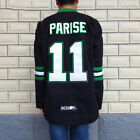 Zach Parise 11 North Dakota Fighting Sioux Hockey Stitched Jersey Size S XXXL