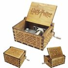 UK Hot Harry Potter / GAME OF THRONES Engraved Wooden Music Box Toys Xmas Gifts