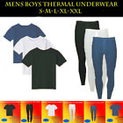 Full Set Mens Thermal Ski Underwear T-shirt Half Sleeve Long John