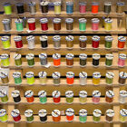 Veevus Thread 6/0 Through 16/0 Fly Tying Materials - All Colors & Sizes